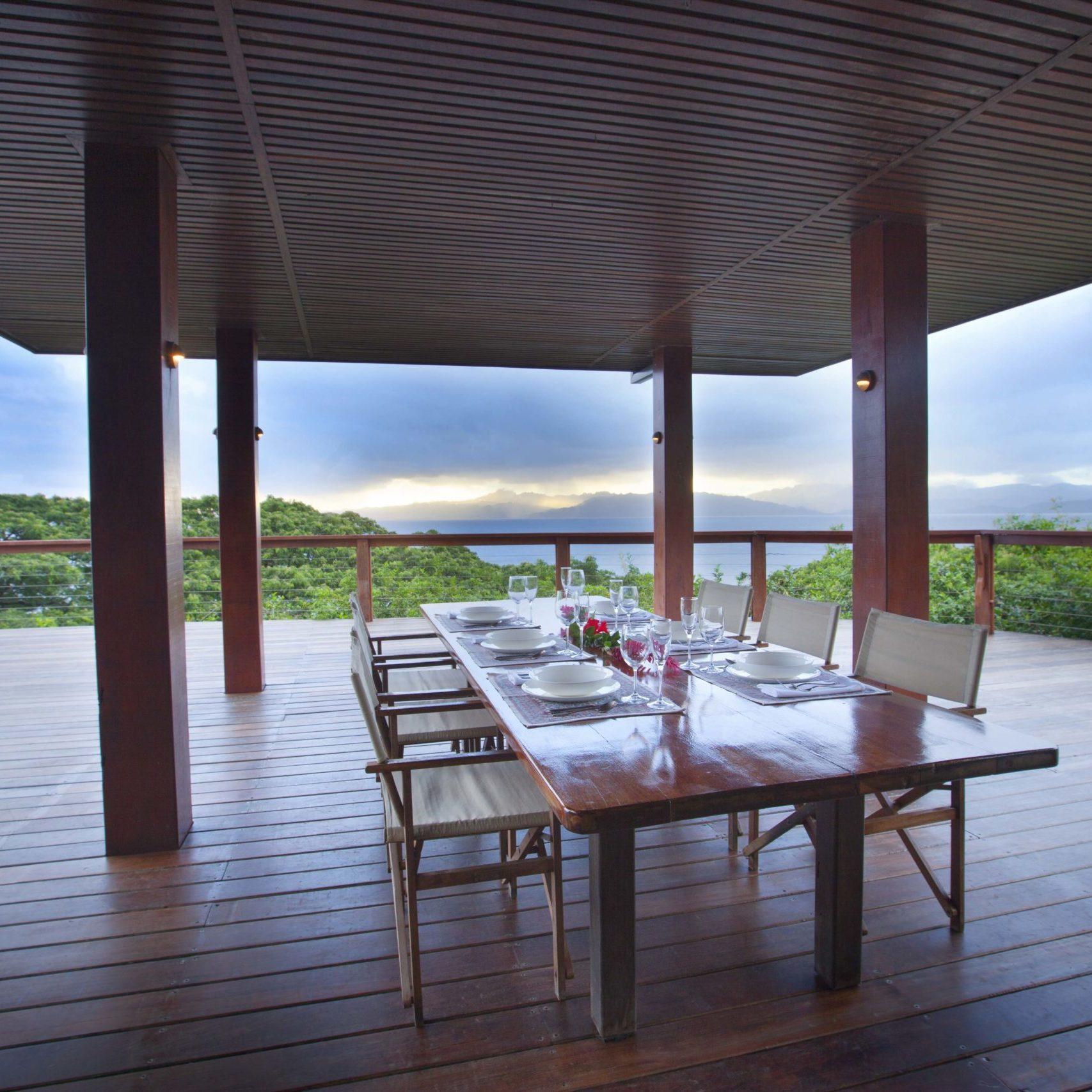 Stillness Fiji dining