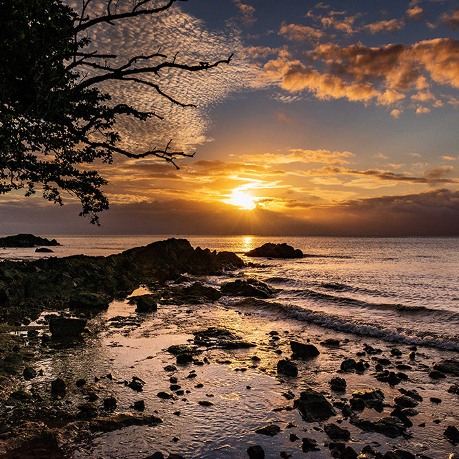 Stillness-Fiji-sunset-on-Savusavu-Bay